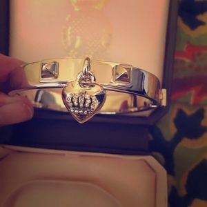 NW. Juicy Couture Heart w/ Crown Bangle.